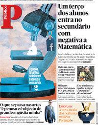 capa Público de 25 março 2018