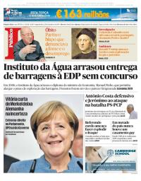 capa Público de 25 setembro 2017