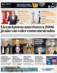 capa Público de 25 setembro 2018
