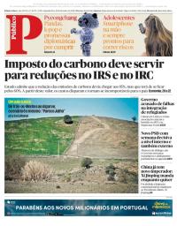 capa Público de 26 fevereiro 2018