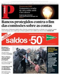 capa Público de 26 dezembro 2017