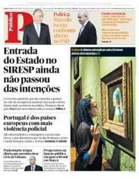 capa Público de 27 fevereiro 2018