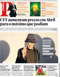 capa Público de 27 março 2018