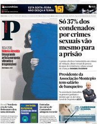 capa Público de 27 setembro 2018