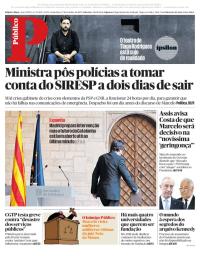 capa Público de 27 outubro 2017