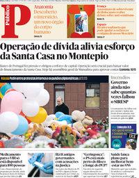 capa Público de 28 março 2018