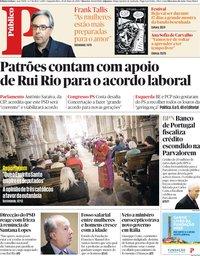 capa Público de 28 maio 2018