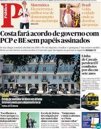 capa Público de 28 julho 2018