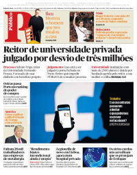 capa Público de 29 janeiro 2018