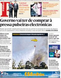 capa Público de 29 março 2018
