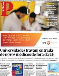 capa Público de 29 maio 2018