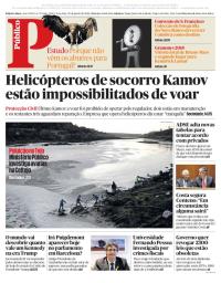 capa Público de 30 janeiro 2018
