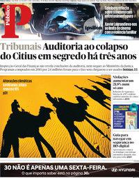 capa Público de 30 março 2018