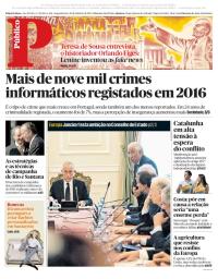 capa Público de 30 outubro 2017