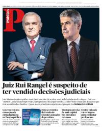 capa Público de 31 janeiro 2018