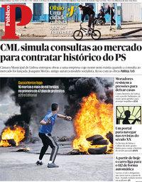 capa Público de 31 março 2018
