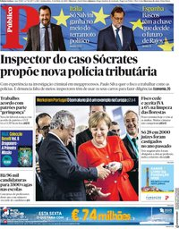capa Público de 31 maio 2018