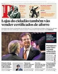 capa Público de 31 outubro 2017