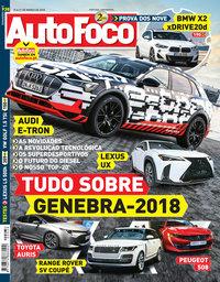 capa Revista Auto Foco de 15 março 2018
