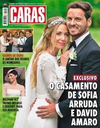 capa Revista Caras de 1 junho 2018
