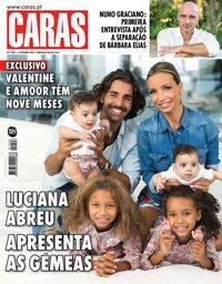 capa Revista Caras de 3 outubro 2018