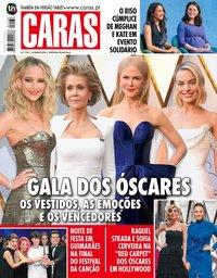 capa Revista Caras de 8 março 2018