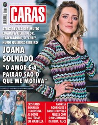 capa Revista Caras de 8 junho 2018