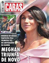 capa Revista Caras de 15 junho 2018