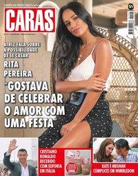 capa Revista Caras de 20 julho 2018