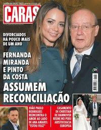 capa Revista Caras de 23 março 2018