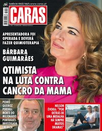 capa Revista Caras de 24 agosto 2018