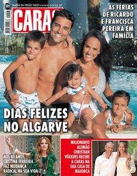 capa Revista Caras de 31 agosto 2018