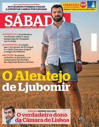 capa Revista Sábado de 6 setembro 2018