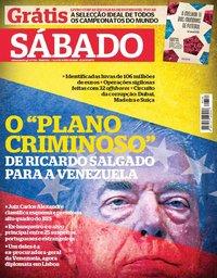 capa Revista Sábado de 7 junho 2018