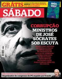 capa Revista Sábado de 10 maio 2018