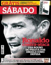 capa Revista Sábado de 11 outubro 2018