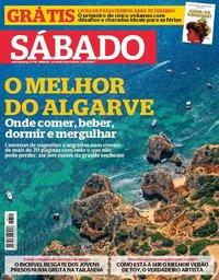 capa Revista Sábado de 12 julho 2018