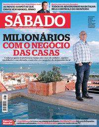 capa Revista Sábado de 14 junho 2018