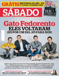 capa Revista Sábado de 15 março 2018