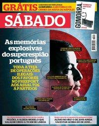 capa Revista Sábado de 18 outubro 2018