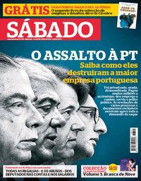 capa Revista Sábado de 19 julho 2018