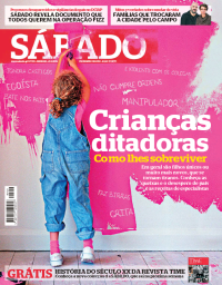 capa Revista Sábado de 21 fevereiro 2018
