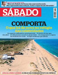 capa Revista Sábado de 21 junho 2018