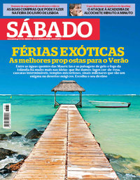 capa Revista Sábado de 24 maio 2018