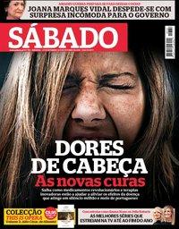 capa Revista Sábado de 27 setembro 2018