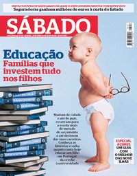 capa Revista Sábado de 28 junho 2018