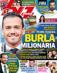 capa TV7 Dias de 16 setembro 2018