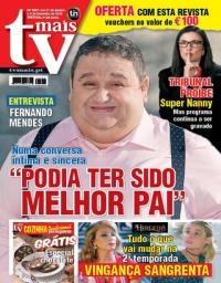 capa TV Mais de 3 fevereiro 2018