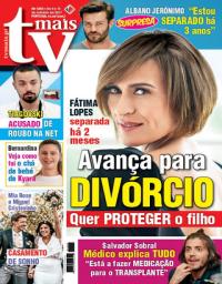 capa TV Mais de 8 outubro 2017