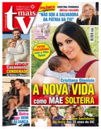 capa TV Mais de 13 outubro 2017